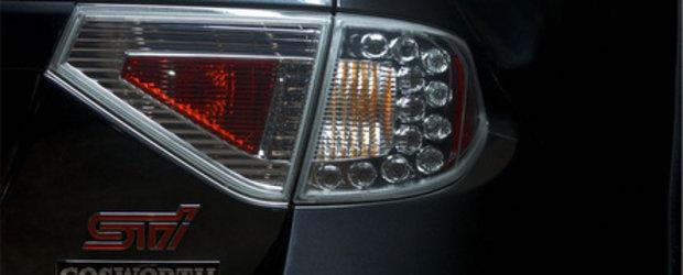 Cosworth face magie cu Subaru Impreza WRX  STI