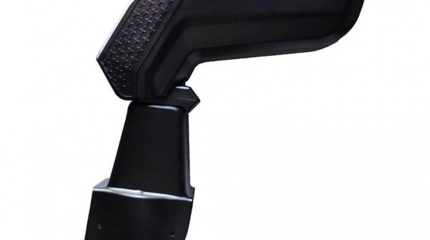 Cotiera ArmCik S4 pentru Dacia Duster ( Version - Euro 6 ) 2015-, rabatabila cu capac culisabil, Gri