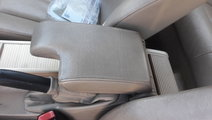 Cotiera piele crem BMW E46, volan stanga