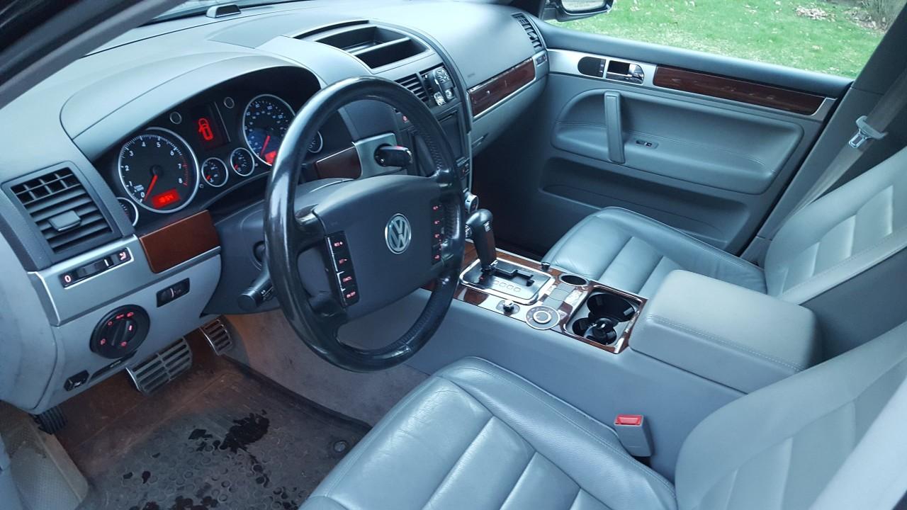 Cotiera piele cu cal Volkswagen Touareg 2003-2009 7L 7L6 cod: 7L6864207B 3.0 tdi BKS