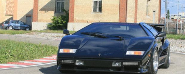 Countach Turbo S - Cel mai extrem Lamborghini construit vreodata!