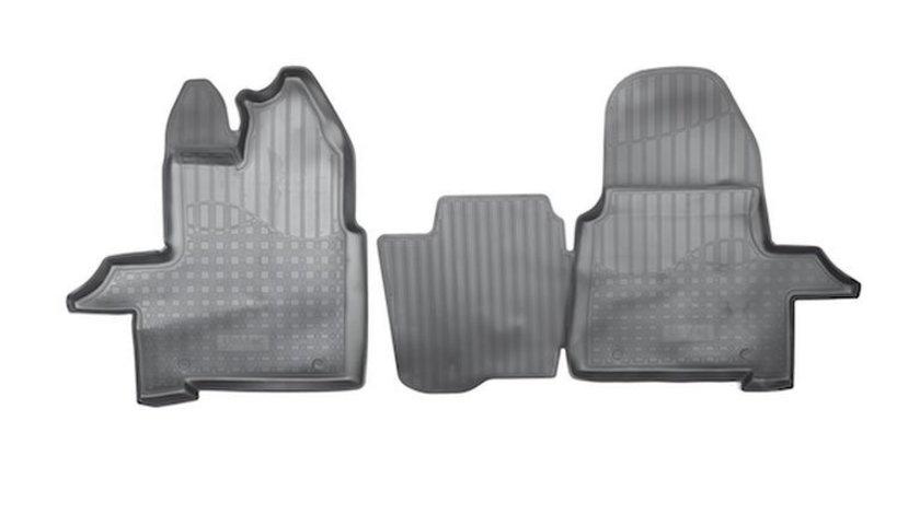 Covoare cauciuc stil tavita Ford Transit 2014-> ( 2D 3166, A30 ) AutoCars