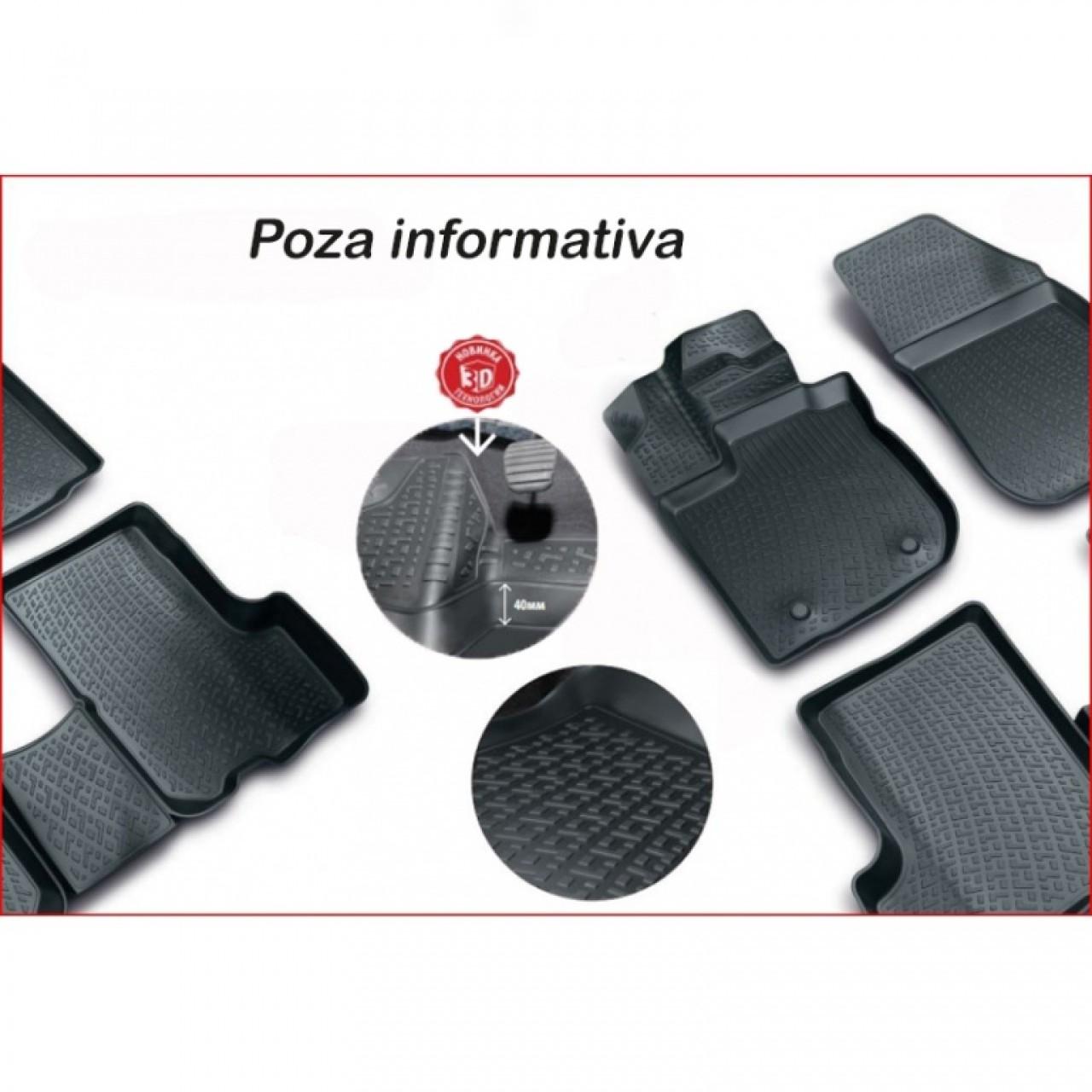 Covoare cauciuc stil tavita IVECO Daily IV / V 2006-2014 ( 2D 3272, A10 ) AutoCars