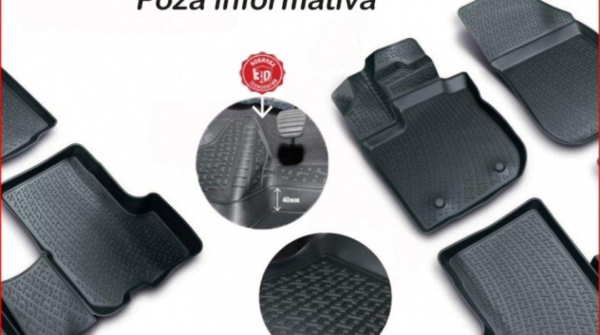 Covoare cauciuc stil tavita SEAT Alhambra II 2010 -> ( 3D 0512, A10 ) AutoCars