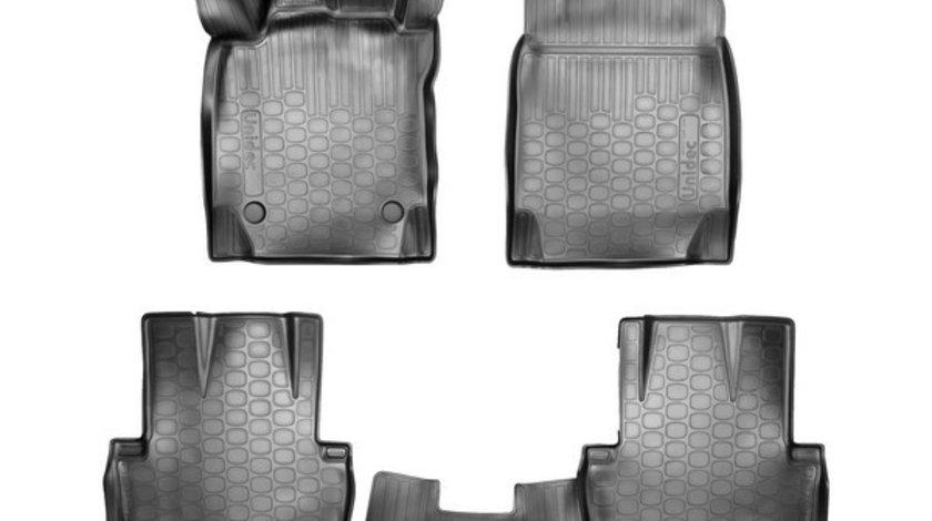 Covoare cauciuc stil tavita VW T5/T6 Transporter Caravelle Multivan 2003-> pentru FATA ( 3D 62066, A20 ) AutoCars