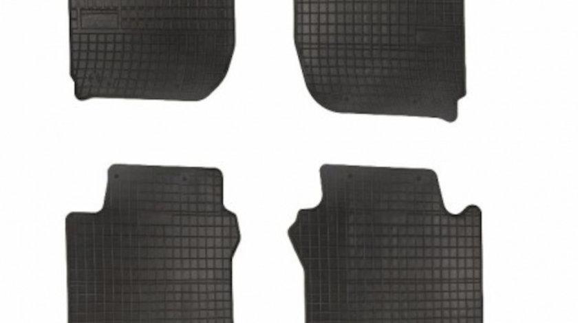 Covorase Audi A4 B9 2015- , presuri BestAutoVest, negre, 4 buc.