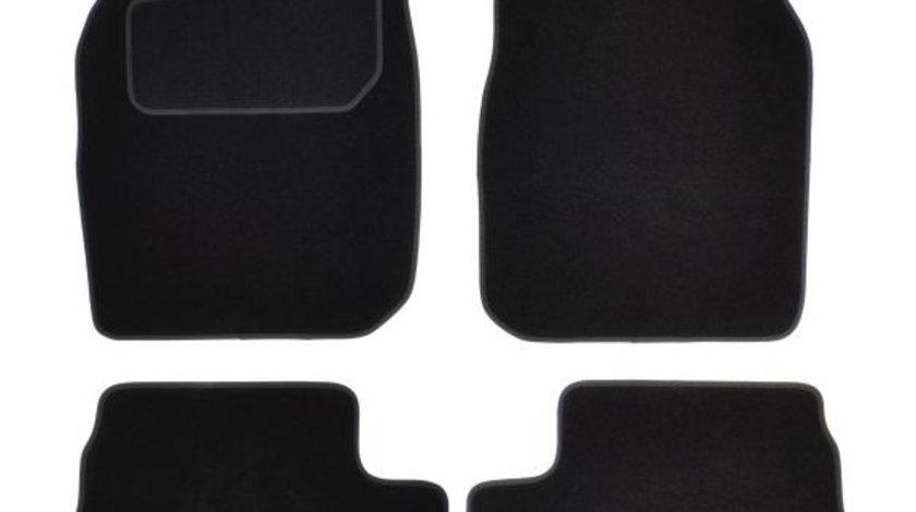 Covorase auto (fata, velur, 2 bucati, culoare negru) FORD STREET KA intre 2003-2005