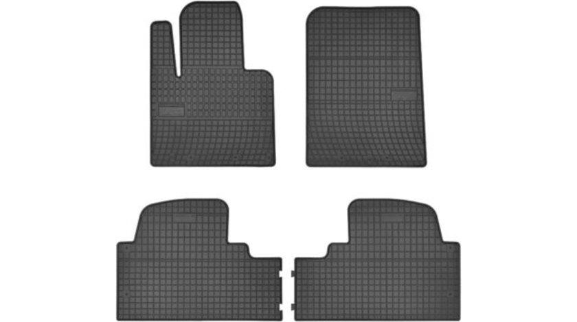 Covorase auto Hyundai SanaFe III, dupa 2015 Set fata si spate – 6 buc. (7 locuri) AutoLux