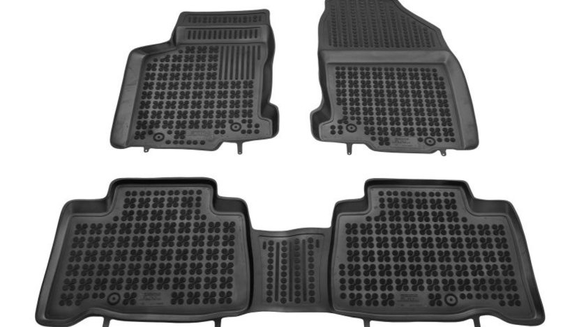 Covorase auto (set, cauciuc, 3 bucati, culoare negru) LEXUS NX dupa 2014