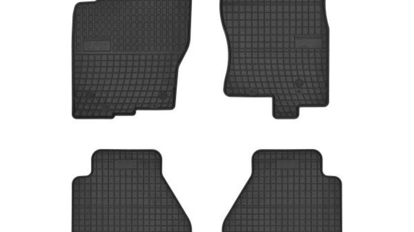 Covorase auto (set, cauciuc, 4 bucati, culoare negru) NISSAN PATHFINDER III dupa 2010