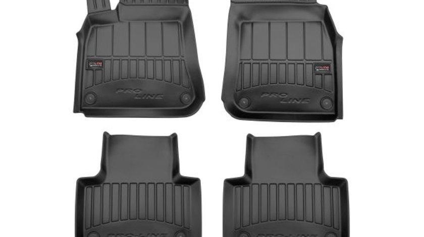 Covorase auto (set, cauciuc, 4 bucati, culoare negru) AUDI Q7 dupa 2015