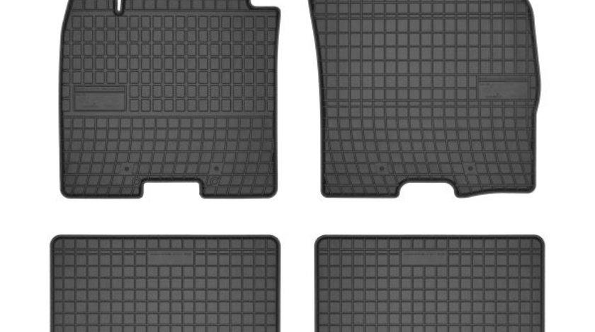 Covorase auto (set, cauciuc, 4 bucati, culoare negru) SUZUKI BALENO dupa 2016