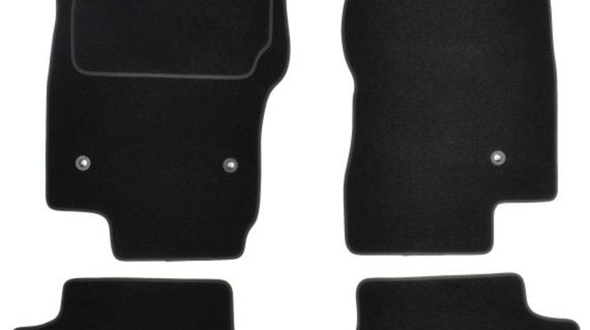 Covorase auto (set, velur, 4 bucati, culoare negru, 5 locuri) NISSAN PATHFINDER III dupa 2005