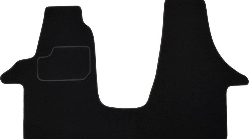Covorase auto (set, velur, culoare negru) VW TRANSPORTER V intre 2003-2015