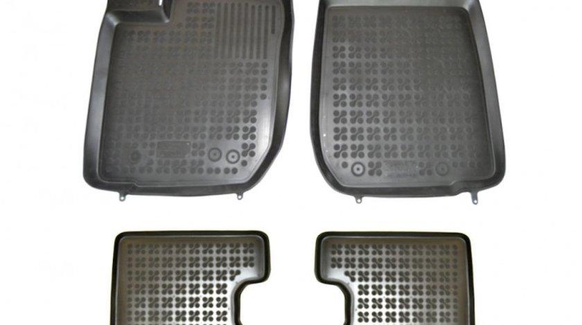 Covorase Dacia Duster dupa 2013 culoare Negru, presuri tip tavita marca Rezaw Plast