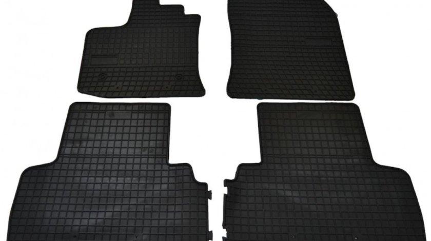 Covorase Dacia Lodgy 2012- , presuri BestAutoVest, negre , 4 buc.
