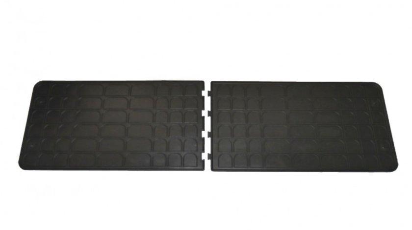 Covorase Flexmat Universale culoare Negru, presuri BestAutoVest, 2 buc., covorase pasaj spate 39.2 X 73.5 cm