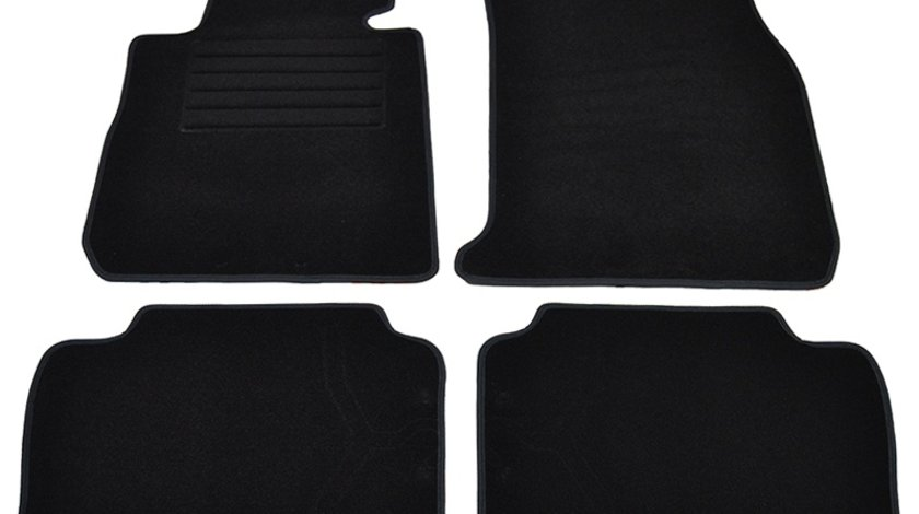 Covorase mocheta BMW Seria 3 F30 4USI 2/2012- Negru, set de 4 bucati