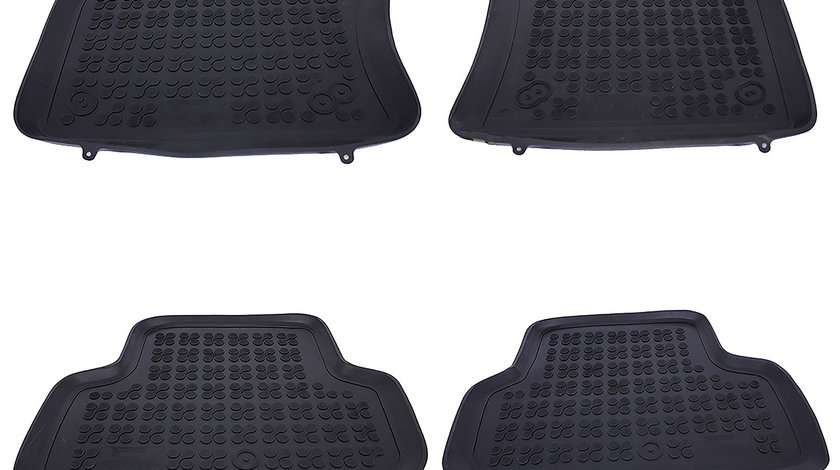 Covorase Presuri Auto negru din cauciuc VW Golf 7 (Dupa-2012)