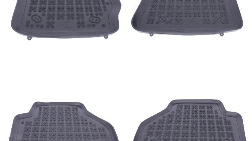 Covorase Presuri Auto Negru din Cauciuc compatibil cu BMW X3 F25 (2011-2017), X4 F26 (2014-2018)