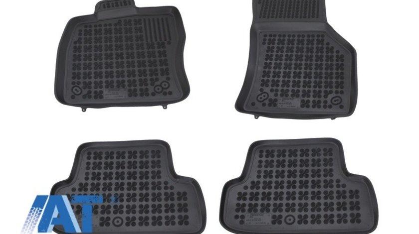 Covorase Presuri Auto Negru din Cauciuc compatibil cu AUDI A3 8V Hatchback (2012-) 3 Usi