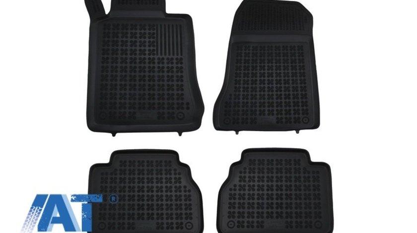 Covorase Presuri Auto Negru din Cauciuc compatibil cu MERCEDES W210 E-Class 1995-2003