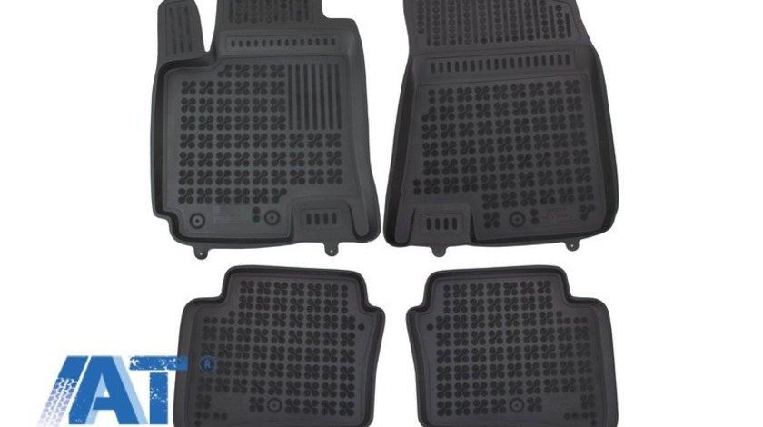 Covorase Presuri Auto Negru din Cauciuc compatibil cu HYUNDAI I20 GB 2014+