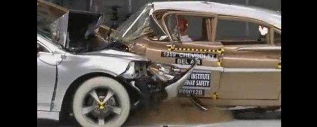 Crash-test Chevrolet: ce inseamna evolutia sigurantei in 50 de ani