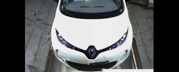 Crash-test cu noul Renault ZOE