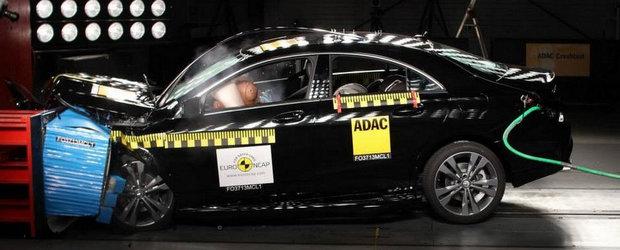 Crash Test EuroNCAP: Cum s-au descurcat Mercedes CLA, Jeep Cherokee si Peugeot 2008
