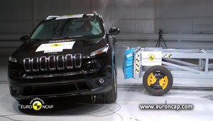 Crash Test EuroNCAP - Noul Jeep Cherokee