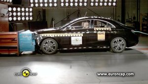 Crash Test EuroNCAP - Noul Mercedes CLA