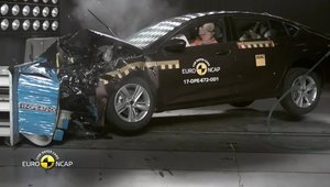 Crash-test EuroNCAP noul Opel Insignia