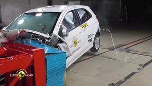 Crash test Ford Ka+ 2017 Euro NCAP