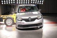 Crash Test Renault Sandero/Logan la Latin NCAP