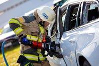 Crash test Volvo