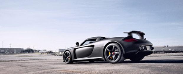 Crearea unei legende: Porsche Carrera GT
