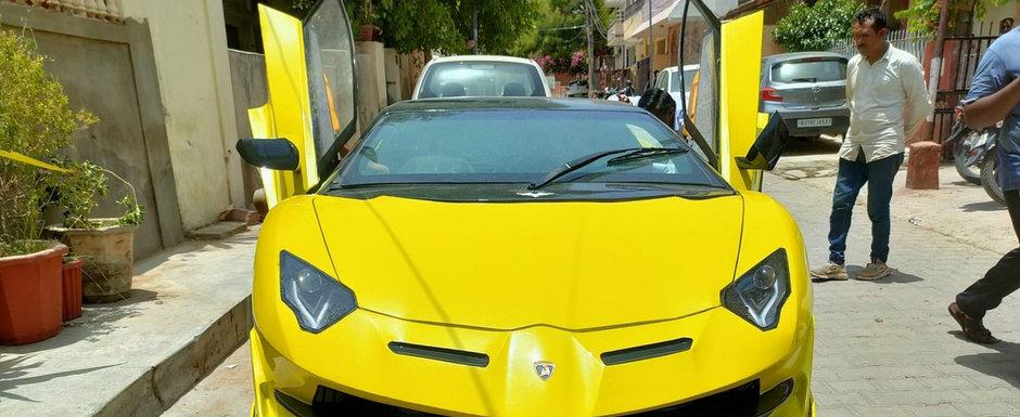 Credeau ca e un Lamborghini Aventador, insa cand s-au uitat mai bine au avut parte de surpriza vietii lor