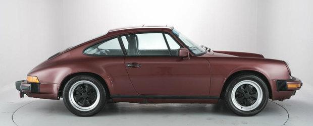 Cu 100.000 de euro iti poti cumpara multe lucruri, sau acest Porsche 911 Carrera 3.2 Coupe din '85