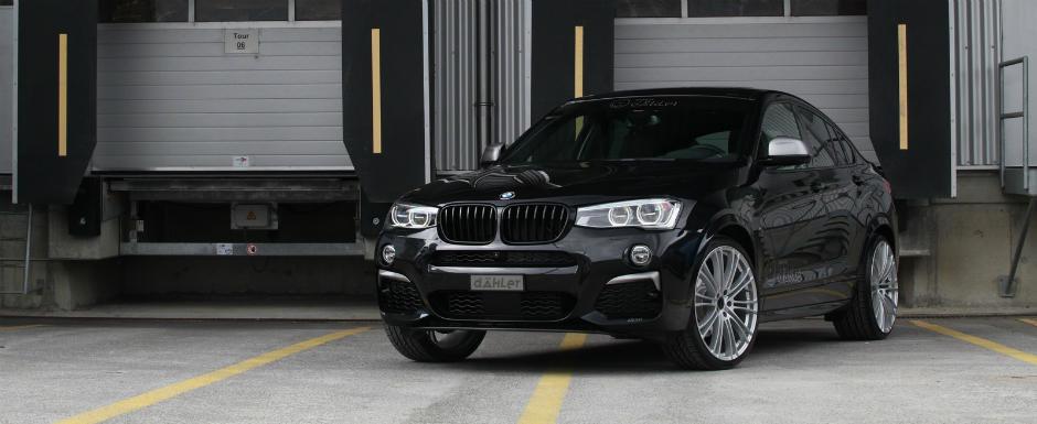 Cu ajutorul celor de la Dahler, BMW-ul X4 a devenit mult mai atragator. Si mai puternic