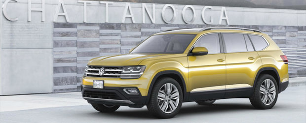 Cu asta vrea sa-i recastige pe americani. Volkswagen lanseaza in sfarsit SUV-ul Atlas