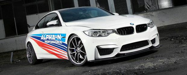 Cu BMW-ul M4 de la Alpha-N Performance poti sa uiti complet de versiunea GTS