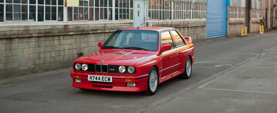 Cu cat se mai da in ziua de azi un BMW M3 in stare perfecta