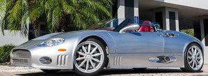 Cu cat se mai vinde in ziua de azi un Spyker C8. In anii 2000 era una dintre cele mai deosebite masini de pe sosea