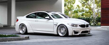 Cu cat se vinde cel mai agresiv BMW M4 al planetei