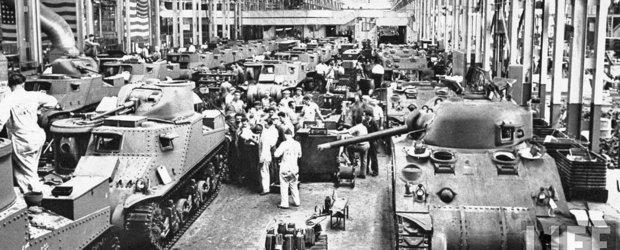 Cu ce au contribuit producatorii auto de azi la Razboaiele Mondiale din trecut?