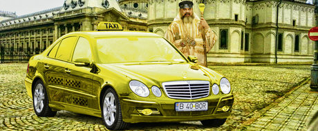 Cu ce masini defileaza in Romania preotii si Patriarhul Bisericii Ortodoxe