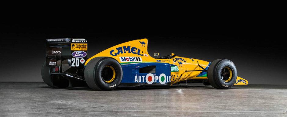 Cu el au concurat Schumacher si Piquet. Cat costa acum acest Benneton de Formula 1