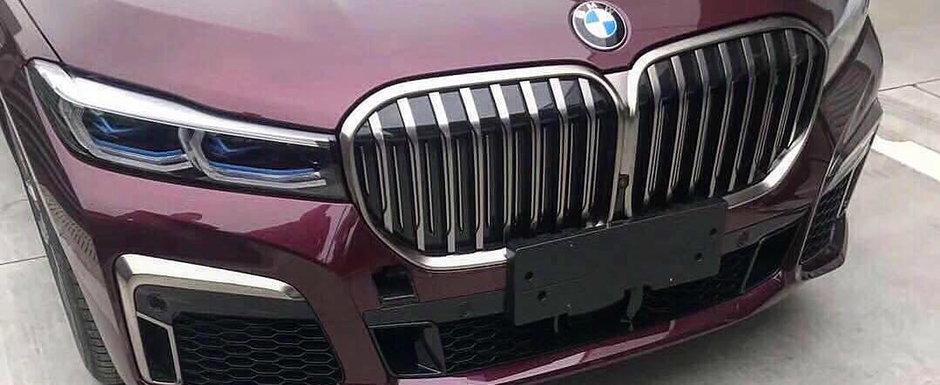 Cu totii asteptam momentul acesta. Ultimele fotografii ale noului BMW Seria 7 ne invita in interiorul limuzinei bavareze