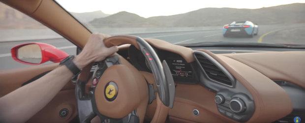 Cu trei super-masini pe cel mai bun drum din Orientul Mijlociu